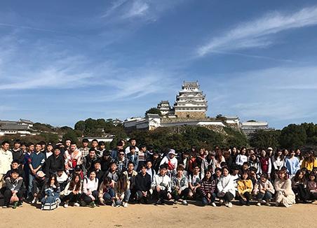 2018年度後期新入国留学生歓迎旅行を開催しました